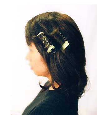 医療用ウイッグ髪型 サイド写真