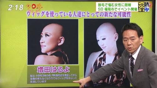 ウィッグホ・フェス今日感テレビ6
